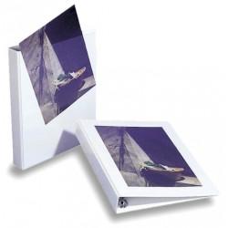 Ordner Präsentationsringbuch A4 weiß 4-Ring-Ø 25 mm / 1 St.