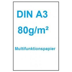 Multifunktionspapier Multiuse A3 80 g/m² weiß / 500 Blatt