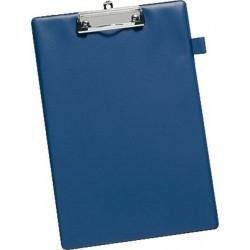 Klemmbrett Schreibplatte Klemme kurze Seite A4 blau / 1 St.