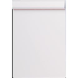Klemmbrett MAUL Kunststoff Klemme kurze Seite A4 weiß