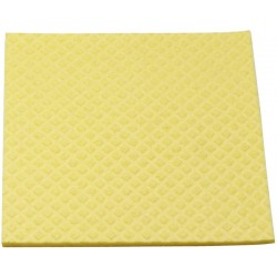 Schwammtuch feucht Maschinenwäsche 95°C 18x20cm gelb 1Pckg.