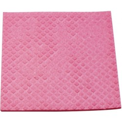 Schwammtuch feucht Maschinenwäsche 95°C rosa / 1Pckg. á 10 St.