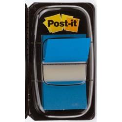 Haftmarker Post-it Signalstreifen Index 680 25,4 x 43,2 mm blau / 1 Pckg.