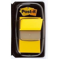 Haftmarker Post-it Signalstreifen Index 680 25,4 x 43,2 mm gelb / 1 Pckg.
