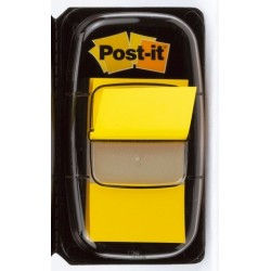 Haftmarker Post-it Signalstreifen Index 680 25,4 x 43,2 mm gelb