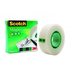 Klebefilm Scotch Magic Tape 810 unsichtbar transparent 19mmx33m