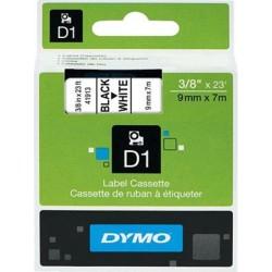 Schriftband D1 Dymo S0720680 9mm x 7m schwarz auf weiß / 1St.