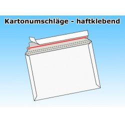 Versandtaschen aus Vollpappe DIN A4 (1000 Stück) WEISS