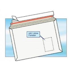 Versandtaschen aus Vollpappe DIN B4 (100 Stück) WEISS