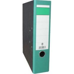 Ordner Wolkenmarmor 80 mm breit DIN A4 Rücken grün / 10 St.