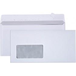 Briefumschlag DIN Lang HK mit Fenster - 100 Briefumschläge