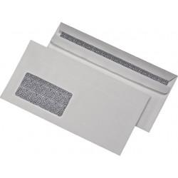 Briefumschlag DIN Lang sk mit Fenster Zahlenmeer Innendruck 1000 St./Karton