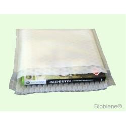 Biobiene®Versandtaschen 220x300mm weiss-transluzent (100 Stück)