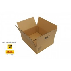 Kartons 365x290x120mm einwellig für Päckchen DHL Pluspäckchen DHL2 (100 Stück)