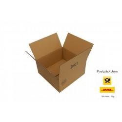 Kartons 290x290x135mm einwellig für Päckchen DHL DHL1 (100 Stück)