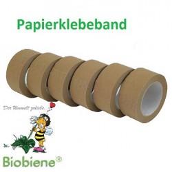 Packbiene® Papierklebeband Oeko 50mmx50m Braun (18 Rollen)