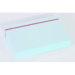 Karteikarten blanko DIN A6 blau (Pckg. á 100 Stück)
