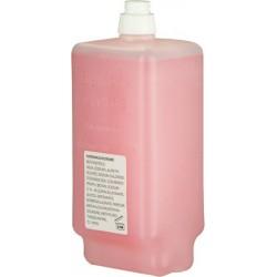 Seife rosé Nachfüllung flüssig für Seifenspender Fußpatrone 950 ml / 1 Flasche