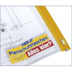 Planschutztasche PE A0 90 x 125 cm transparent Pckg. á 5 St.