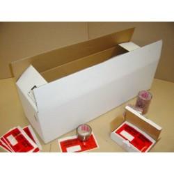 Kartons 980x300x300mm 2-wellig Weiss MEA (10 Stück)
