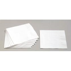 Servietten 3-lagig 1/4 Falz 33x33cm Tissue weiß / 250er Pack
