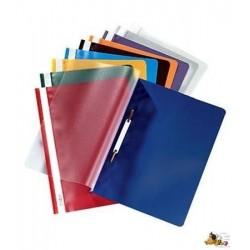 SCHNELLHEFTER OFFICEBIENE® PP-Folie DIN A4 BLAU dunkelblau 1 Pckg. á 10 Stück