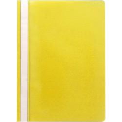 SCHNELLHEFTER OFFICEBIENE® PP-Folie DIN A4 Gelb 1 Pckg. á 25 Stück