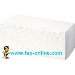 Handtücher Papierhandtücher 2lg. 24,0x33,0cm Classic C-Fold mit Prägung weiß VE=3000 Blatt