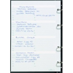 Telefonringbucheinlagen Registerkarten f. Ringbuch DURABLE TELINDEX 2372+75+2442 1Pckg.