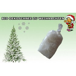 BIO Deko-Streuschnee kompostierbar weiß 5 Pckg. = ca. 175g