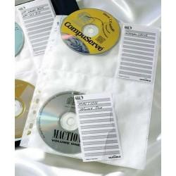 CD-Hüllen A4 f. 4 CD's Universallochung Durable 5222 5 St/Pack