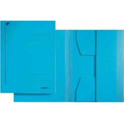 Jurismappe Leitz 3924 Karton 300 g/m² 3 Klappen A4 für 250 Blatt blau