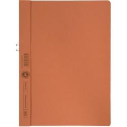 Klemmmappe Elba 36450 ohne Vorderdeckel A4 f. 10 Blatt orange