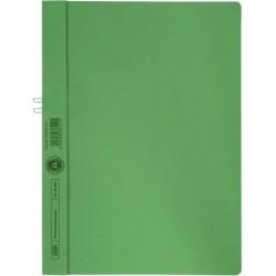 Klemmmappe Elba 36450 ohne Vorderdeckel A4 f. 10 Blatt grün