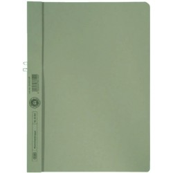 Klemmmappe Elba 36450 ohne Vorderdeckel A4 f. 10 Blatt grau