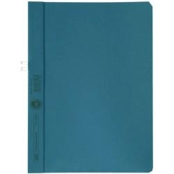 Klemmmappe Elba 36450 ohne Vorderdeckel A4 f. 10 Blatt blau
