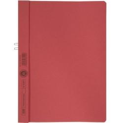 Klemmmappe Elba 36450 ohne Vorderdeckel A4 f. 10 Blatt rot