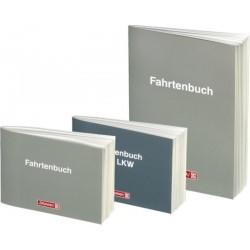 Fahrtenbuch BRUNNEN DIN A6 quer für PKW 40 Blatt Kartoneinband