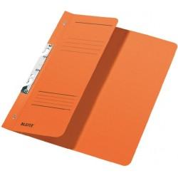 Schlitzhefter Leitz 3744 A4 250g halber Deckel kfm. Heftung orange