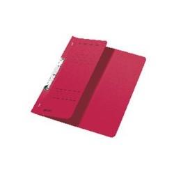 Schlitzhefter Leitz 3744 A4 250g halber Deckel kfm. Heftung rot