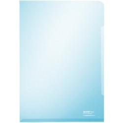 Sichthülle Leitz 4153 DIN A4 PVC-Hartfolie 0,15mm glatt blau 100St.