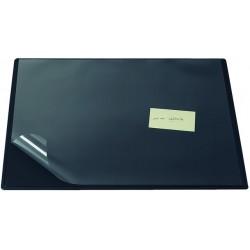 Schreibunterlage mit Vollsichtauflage 63 x 50 cm schwarz