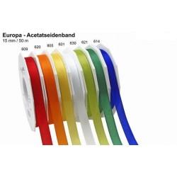 Schleifenband Europa 10mmx50m gelb 805