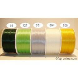 Schleifenband Europa 10mmx50m grün tannengrün 35