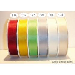 Schleifenband Europa 25mmx50m bordeaux dunkelrot 619