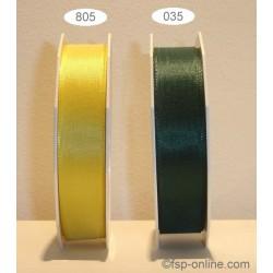 Schleifenband Europa 25mmx50m gelb 805