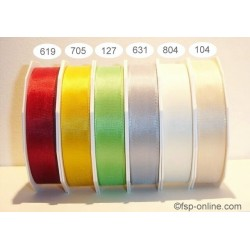 Schleifenband Europa 25mmx50m gelb sonnengelb 705