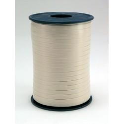 Geschenkband Ringelband 5mmx500m Weiß Cremeweiß 04 1Ro.