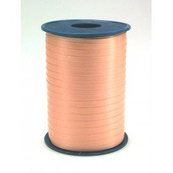 Geschenkband Ringelband 5mmx500m Apricot Lachs 34 / 1 Rolle