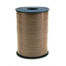 Geschenkband Ringelband 5mmx500m Braun 622 / 1 Rolle
